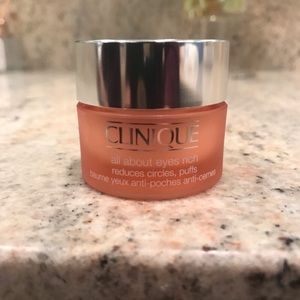 NEW CLINIQUE ALL ABOUT EYES RICH CREAM